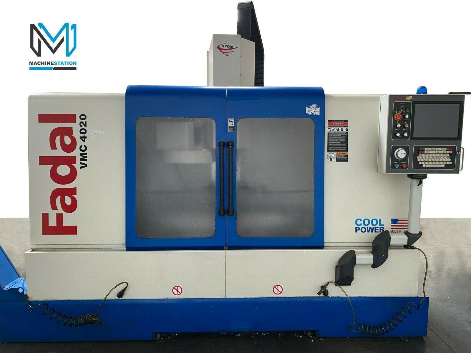 FADAL VMC 4020HT CNC VERTICAL MACHINING CENTER