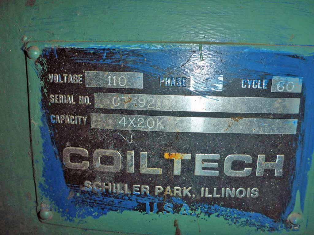 "20,000# x 54"" Coiltech 4 Arm Turnstile"