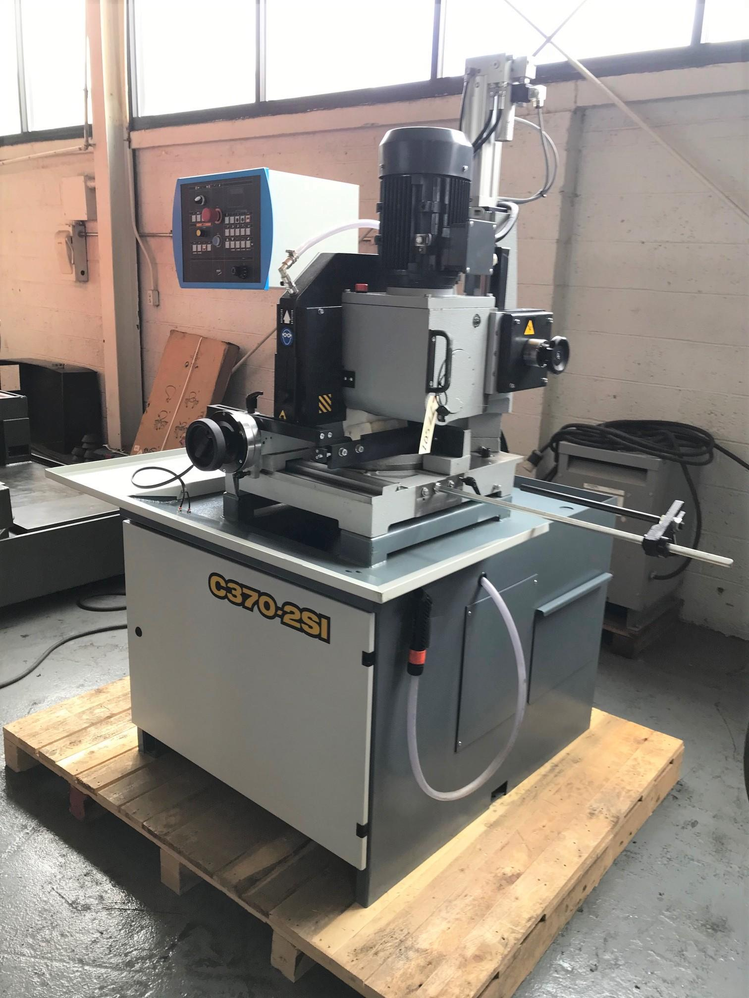 USED HYD-MECH C370 2SI SEMI-AUTOMATIC HEAVY DUTY COLD SAW, 2017, Stock No. 10577