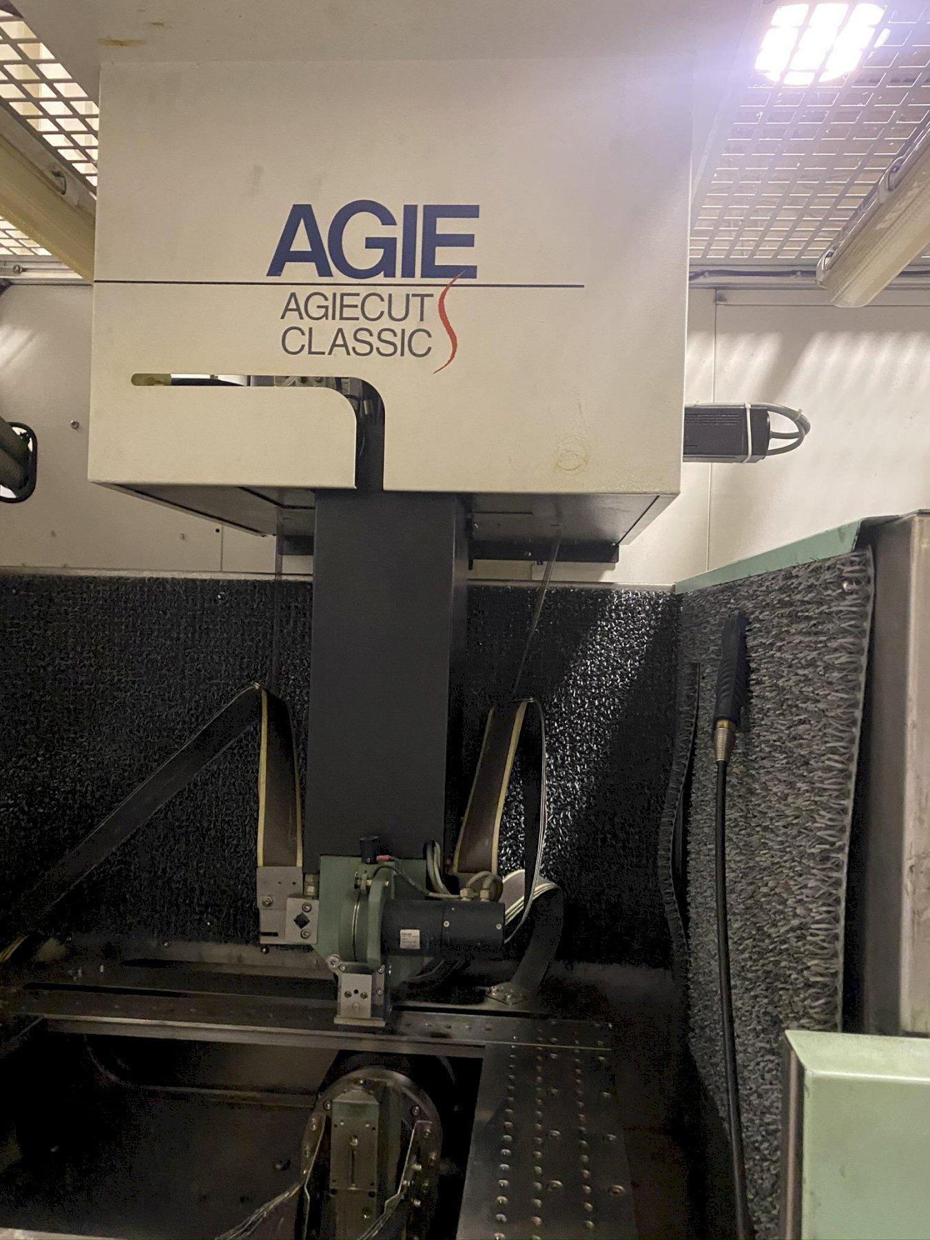 2003 AGIE CLASSIC 3S 4 AXIS WIRE EDM ELECTRICAL DISCHARGE MACHINE: STOCK 13633