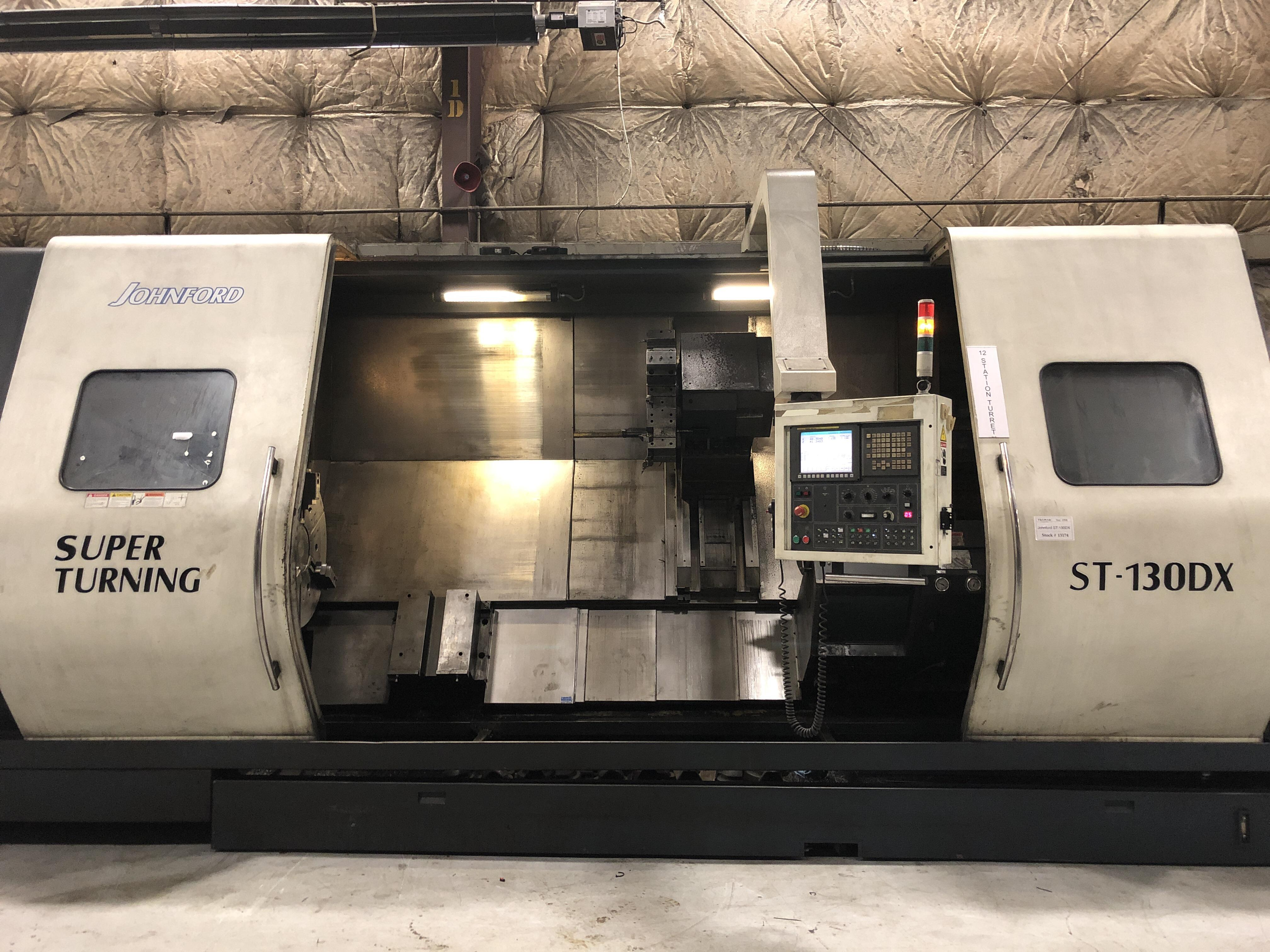 2008 JOHNFORD ST-130DX - CNC Horizontal Lathe
