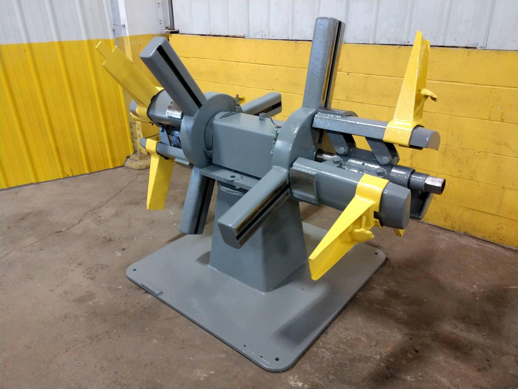 "2500 LB X 18"" AMERICAN DOUBLE END NON MOTORIZED COIL REEL UNCOILER: STOCK  #14165"