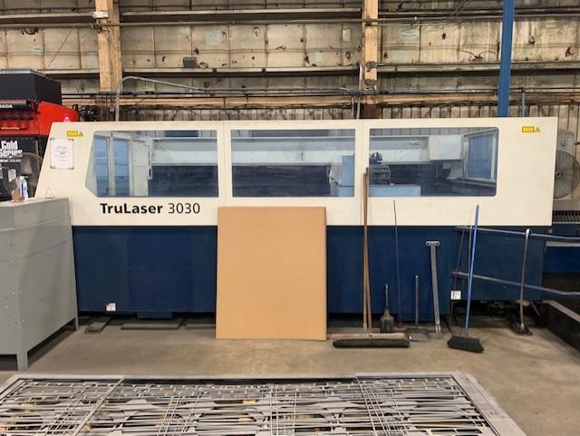 2009, Trumpf Trulaser 3030, 5x10, 4000 Watt Co2 Laser