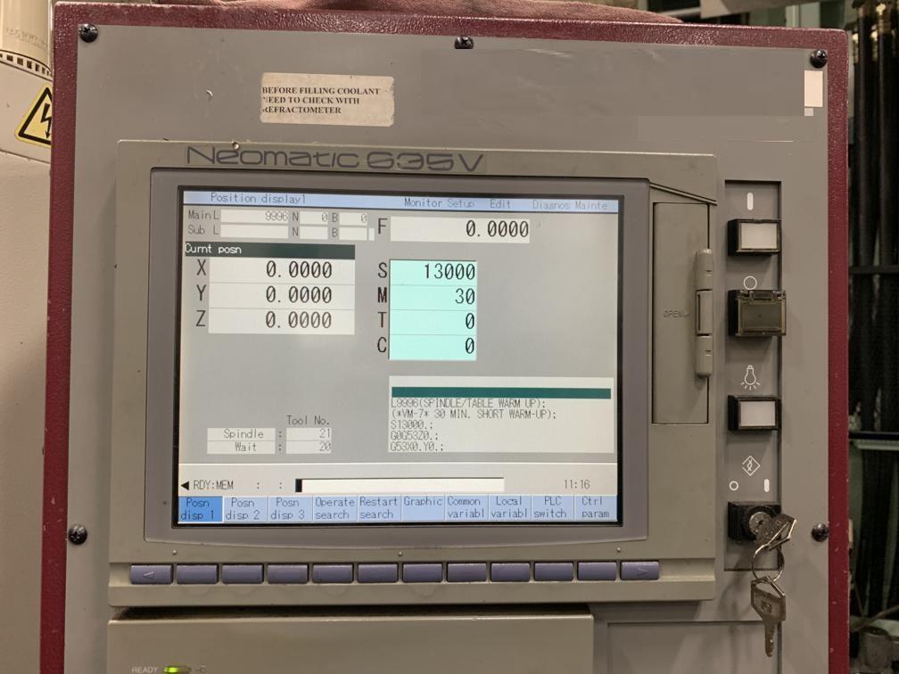 2006 OKK VM-7 III - Vertical Machining Center