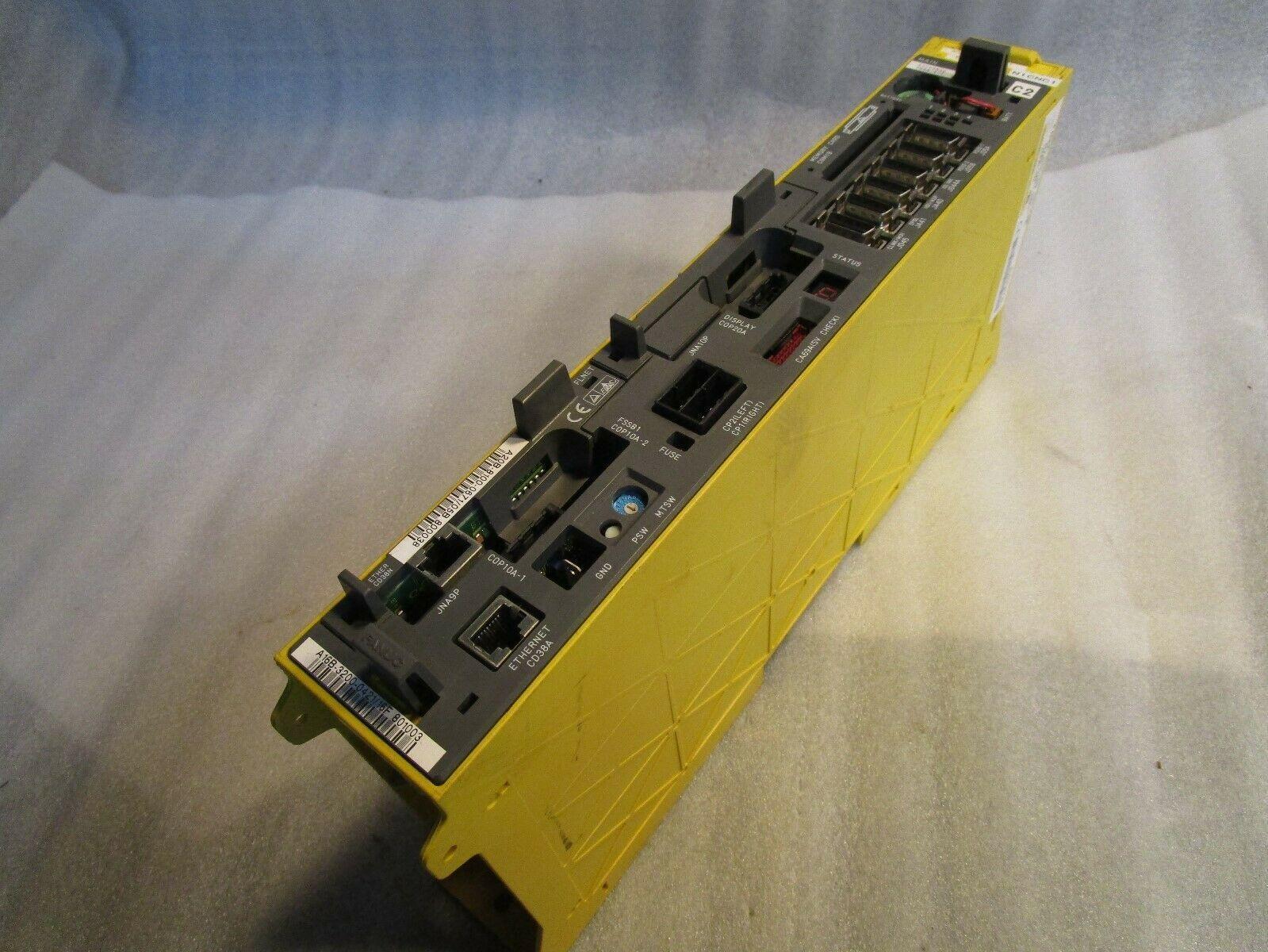 Fanuc 18i LNB CNC Control A02B-0283-B801, A16B-3200-0421/16F, 802555