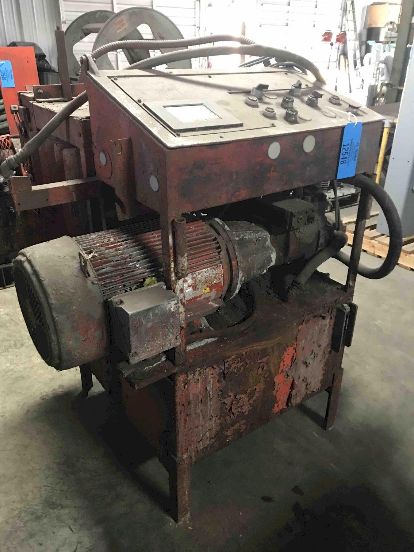 Hydraulic power unit  20 HP 230/460 volts