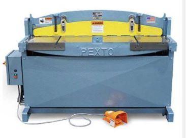 "New RW Pexto Hydraulic Shear Model PH-52, 52"" x 16 Ga."