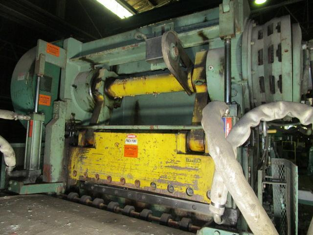 """4.5' (54"""") x .250"""" Herr Voss Down-cut High Speed Inline Shear"""