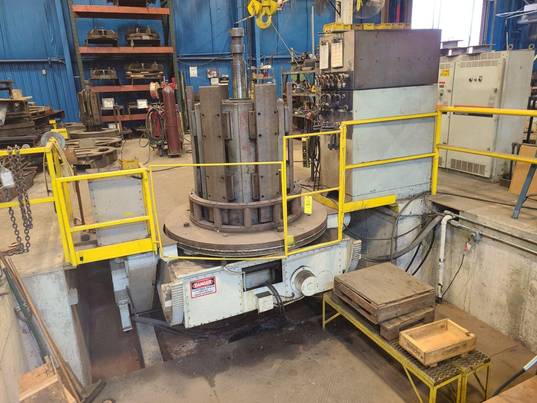 60,000 LB ARONSON MODEL #HD600-SR-RE  WELDING POSITIONER: STOCK 14212