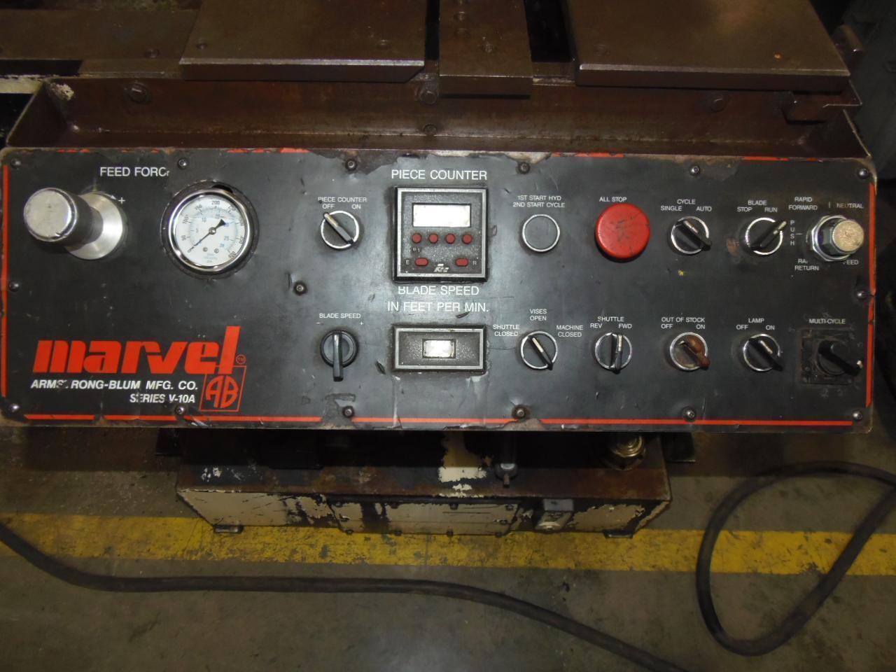 MARVEL V10A2 VERTICAL BAND SAW