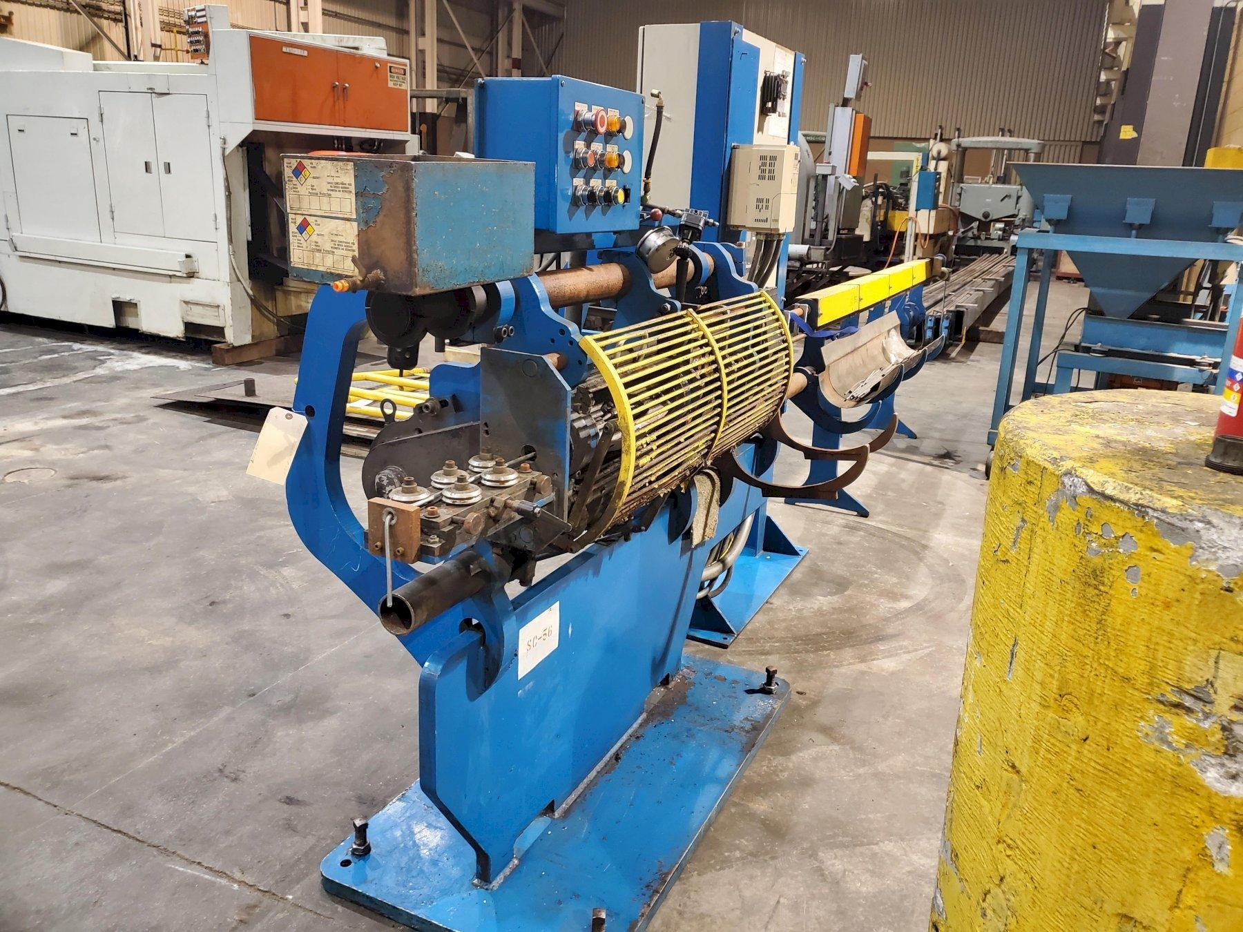 """5/16""""  RMG Model 15 Wire Straighten & Cut Machine"""