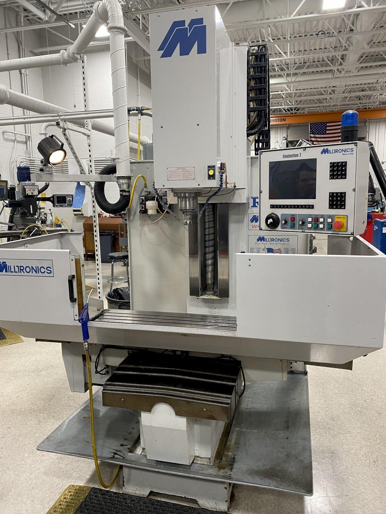 Milltronics Model RH20 CNC 3-Axis Rigid Head Bed Mill, New 2004.