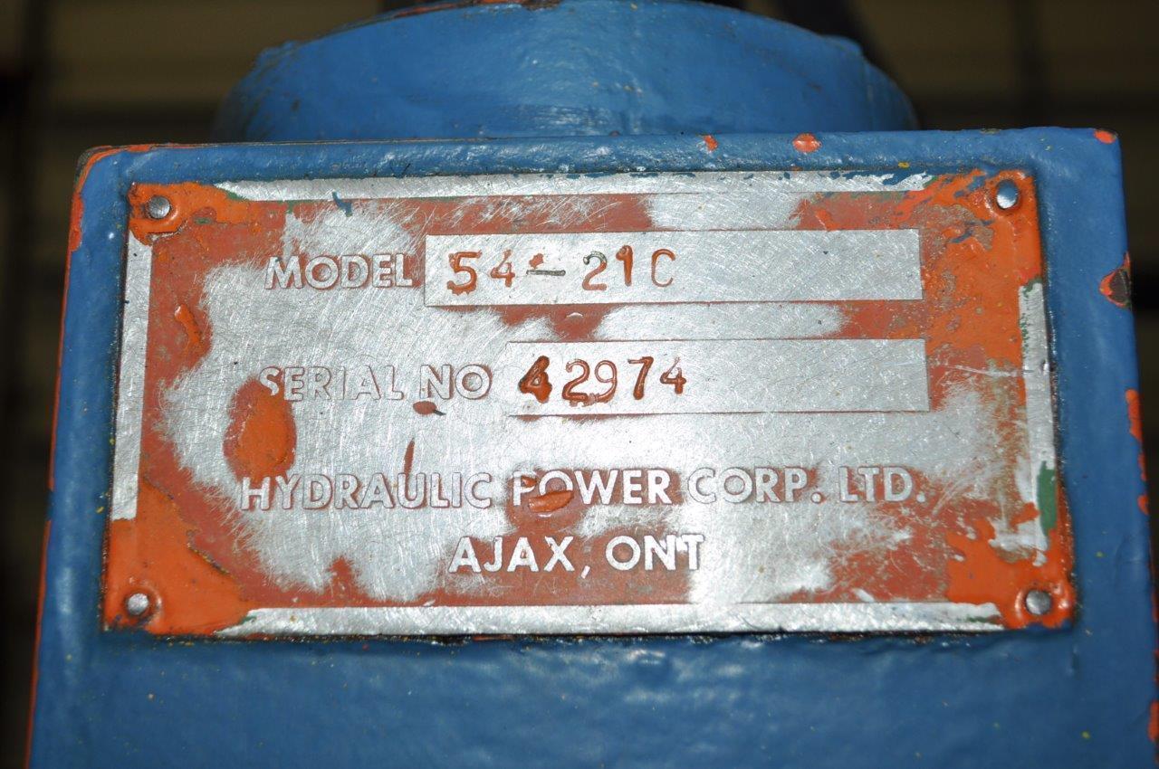 35 TON HYDRAULIC POWER 4 POST PRESS
