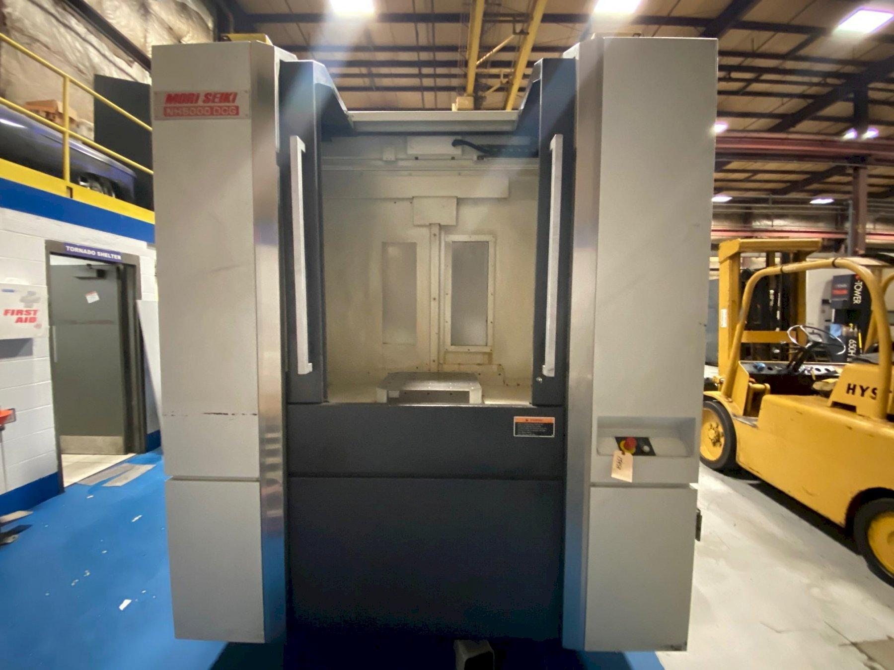 Mori Seiki CNC Horizontal Machining Center
