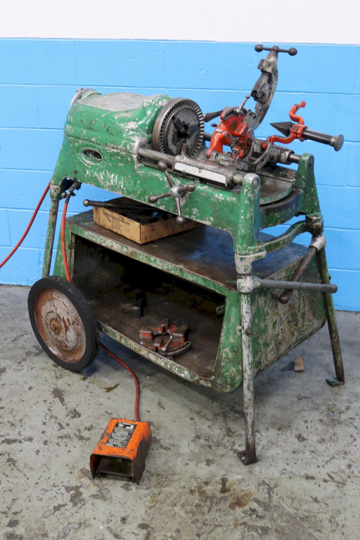 RIDGID MODEL #535 PORTABLE THREADING MACHINE: STOCK #73512