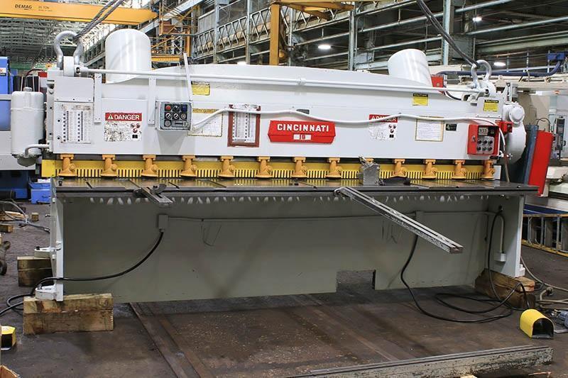 "3/16"" x 12 ft Cincinnati Mechanical Power Shear Model 1812"