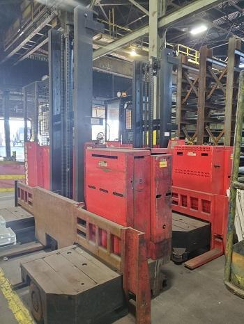 4000 LBS RAYMOND SIDE LOADER   Our stock number: 114658