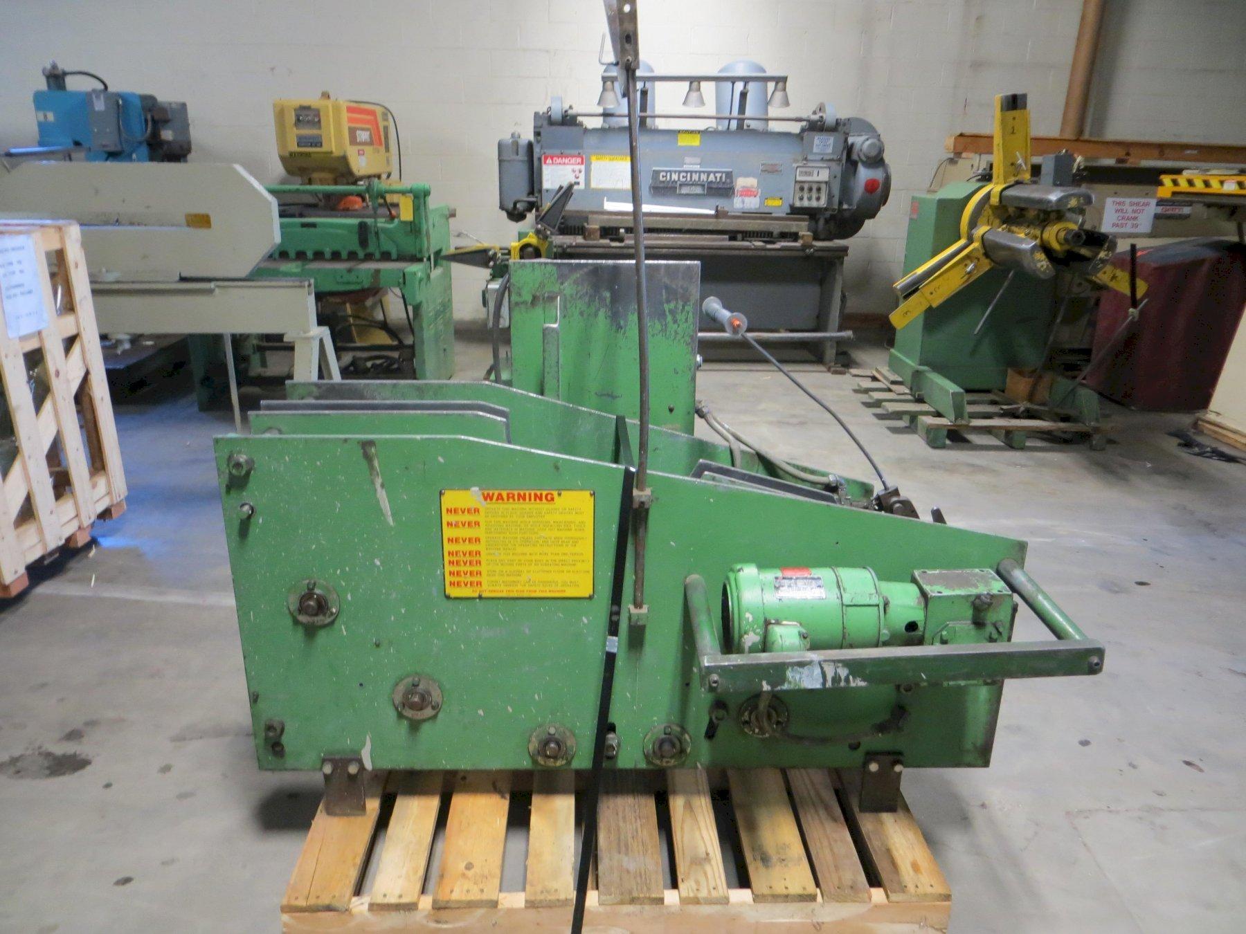 2,500 lb. US Baird Coil Cradle Model ACC-1-9C-48
