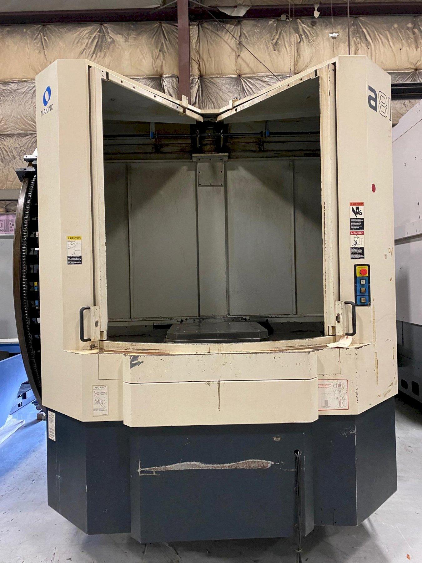 2008 Makino a81 CNC Horizontal Machining Center
