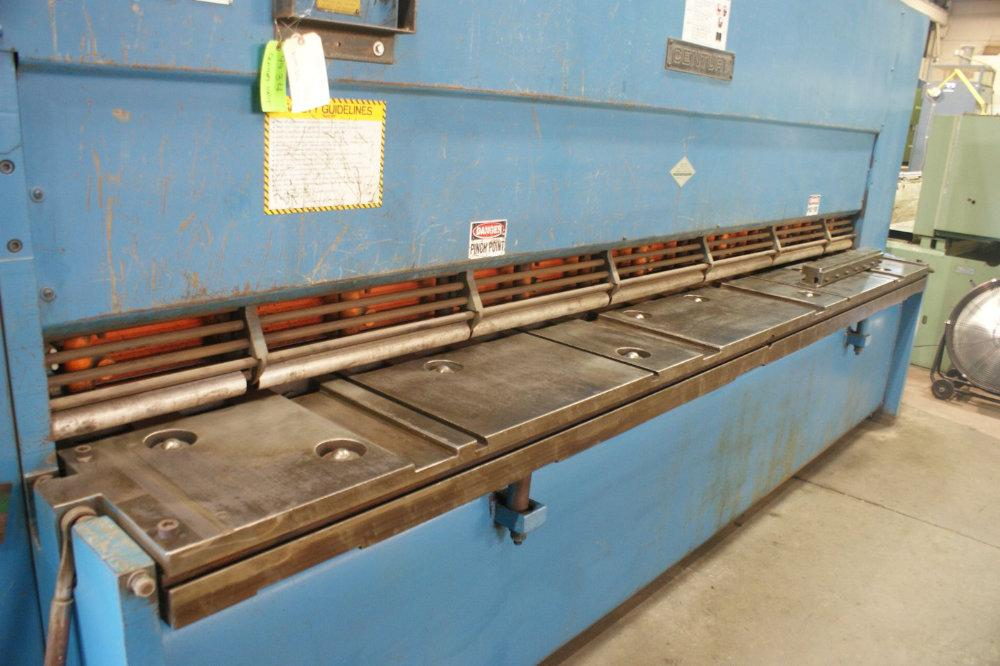 "USED CINCINNATI HYDRAULIC SHEAR, Model 4H12 CENTURY, 1/2"" x 12', Stock No. 9934"