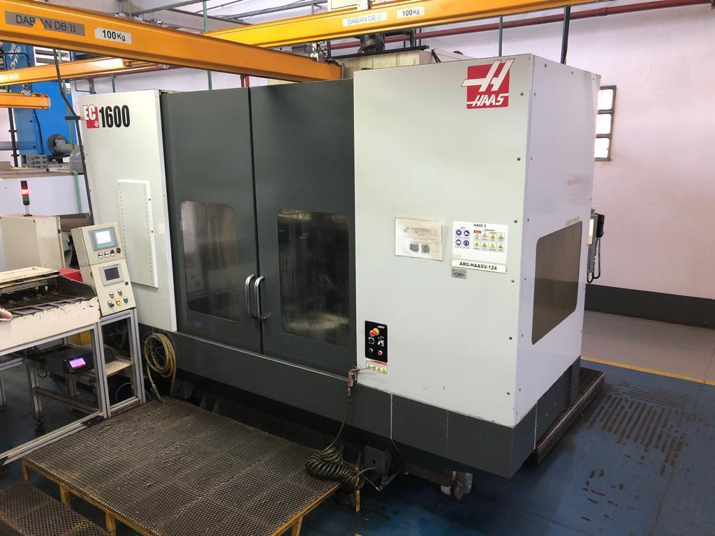 HAAS EC-1600 - CNC Horizontal Machining Center 2011