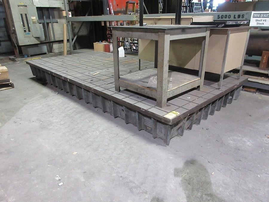 "78"" x 158"" Grid Type Layout Surface Table"