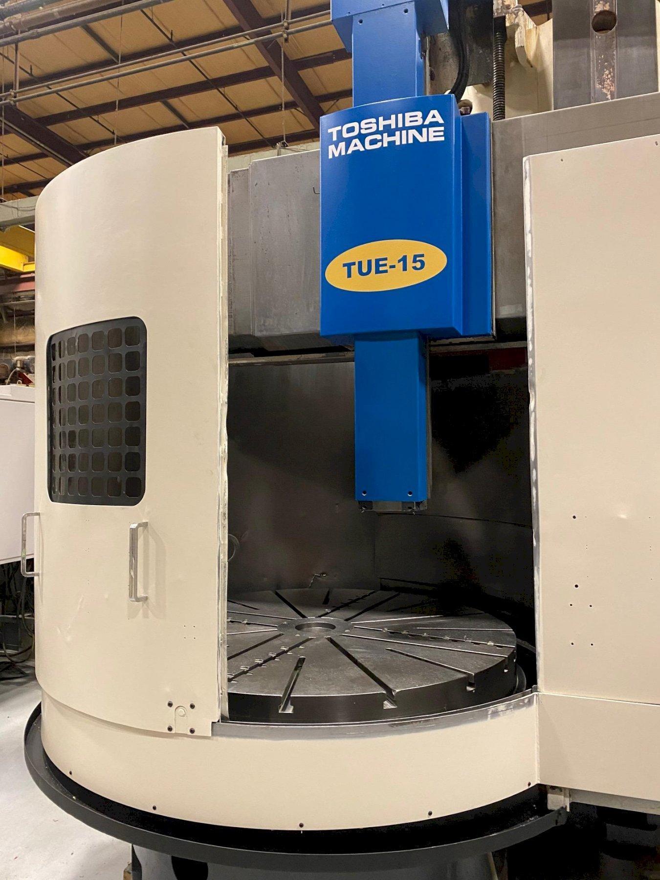 2006 Toshiba TUE-15 CNC Vertical Boring Mill