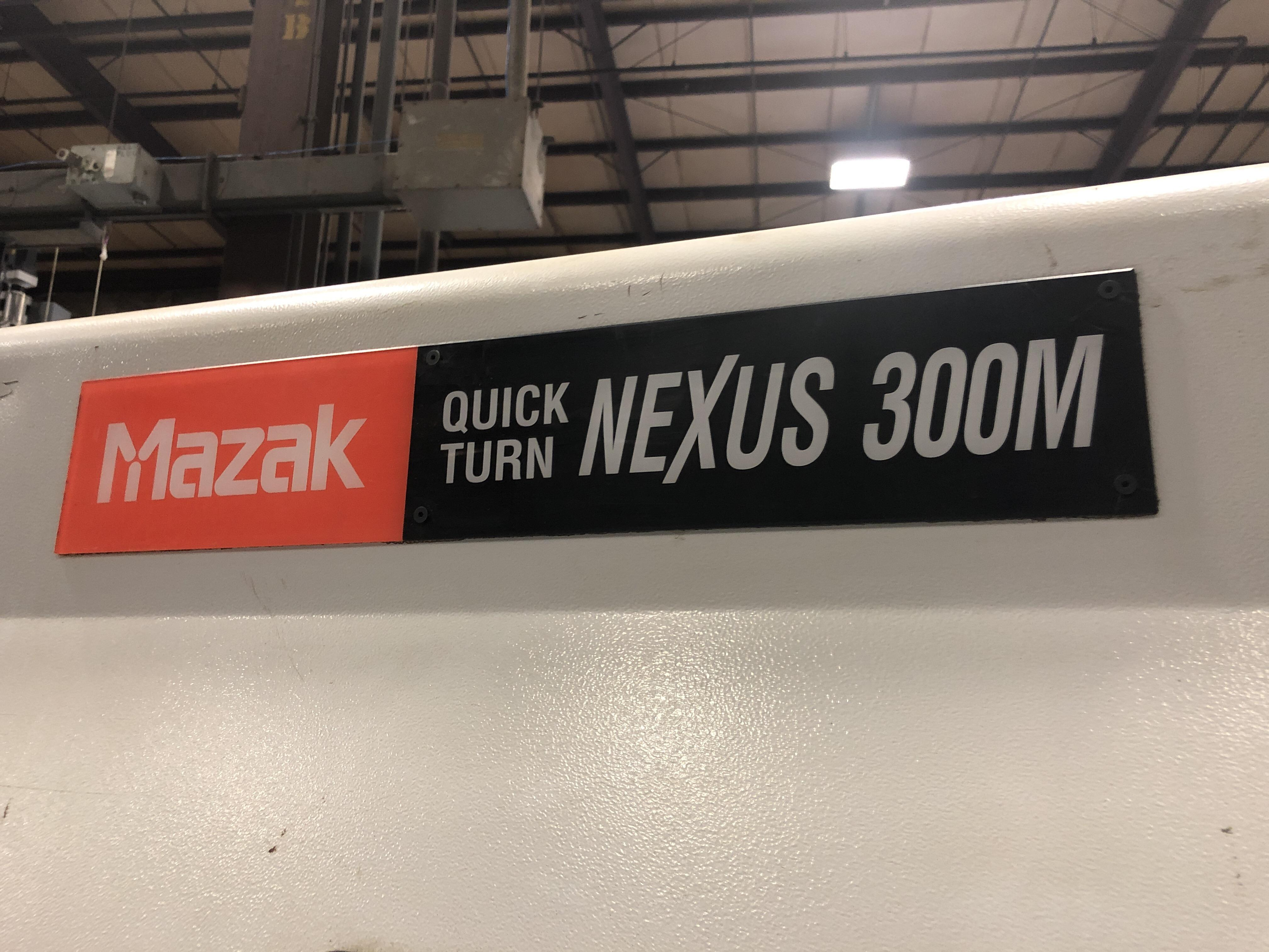 2005 Mazak QTN-300M - CNC Horizontal Lathe