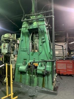 1500 LB CHAMBERSBURG - CECO AIR DROP FORGING HAMMER   Our stock number: 114583