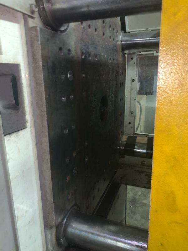 Toshiba Used ISG150N Injection Molding Machine, 150 US ton, Yr. 1999, 8.1 oz