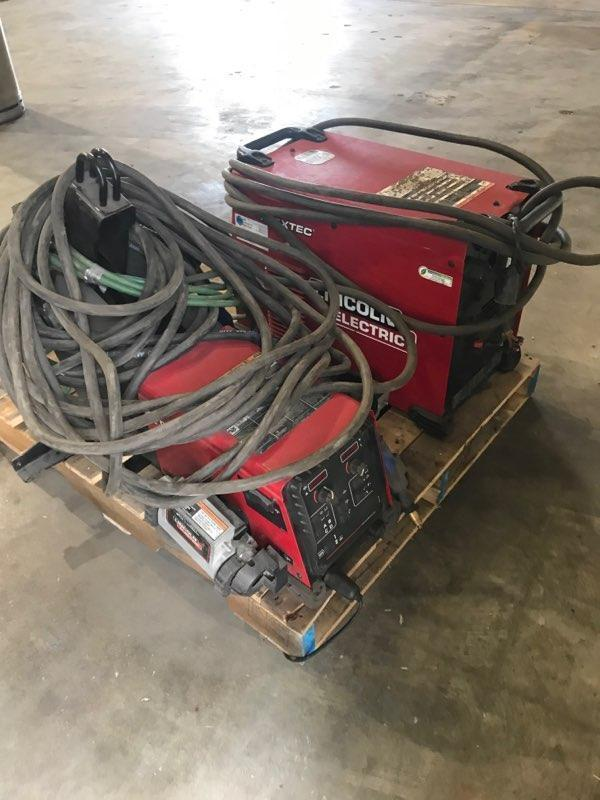 Lincoln Electric Welders w/ Wire Feeders