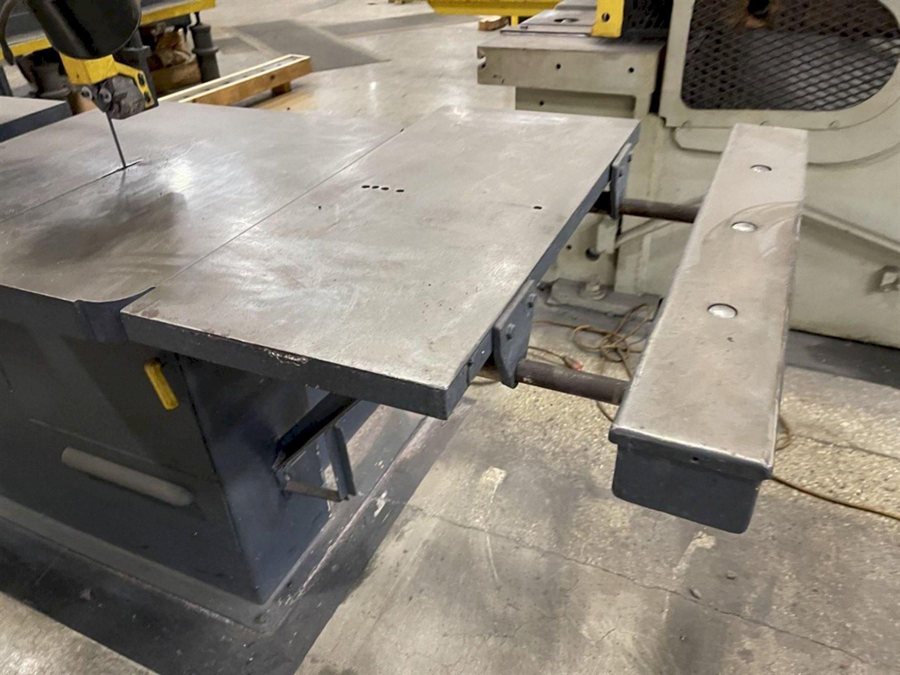 "36"" DOALL VERTICAL BAND SAW, Model 3613-20,  36"" Throat Depth, 30"" x 30"" Table, 13"" Work Height Capacity, Table Tilt L/ R."