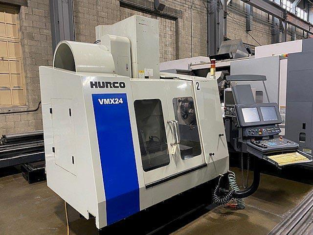 """HURCO VMX-24, Ultimax CNC Control, 29"""" x 20"""" Table, X=24"""", Y=20"""", Z=24"""", 24 Station Tool Changer, Cat-40, 10,000 RPM, New 2006."""
