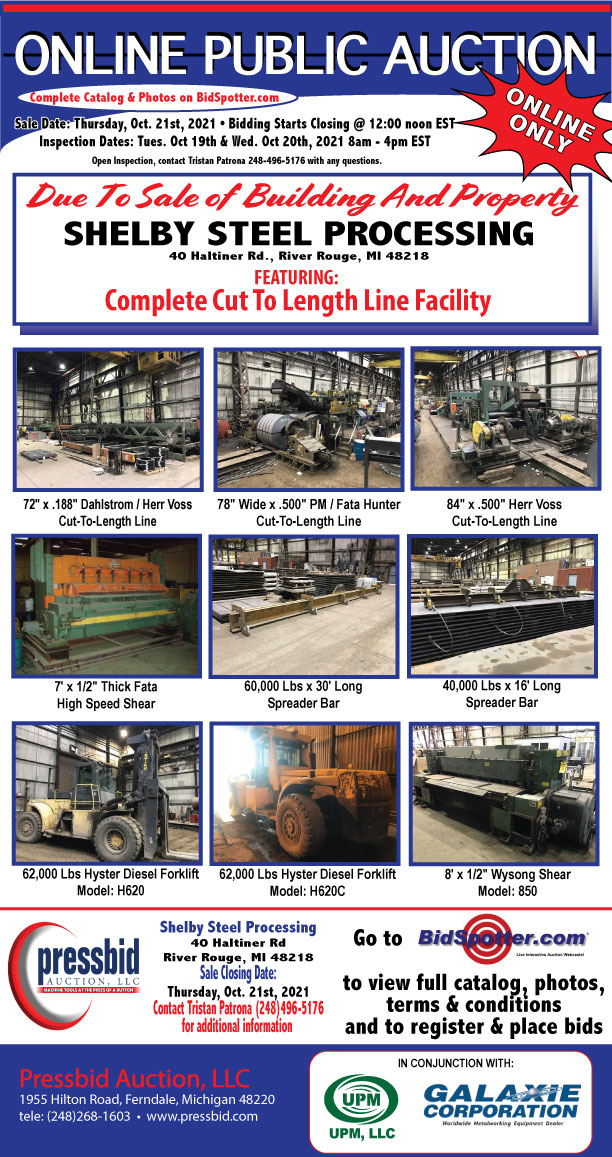 Shelby Steel Auction