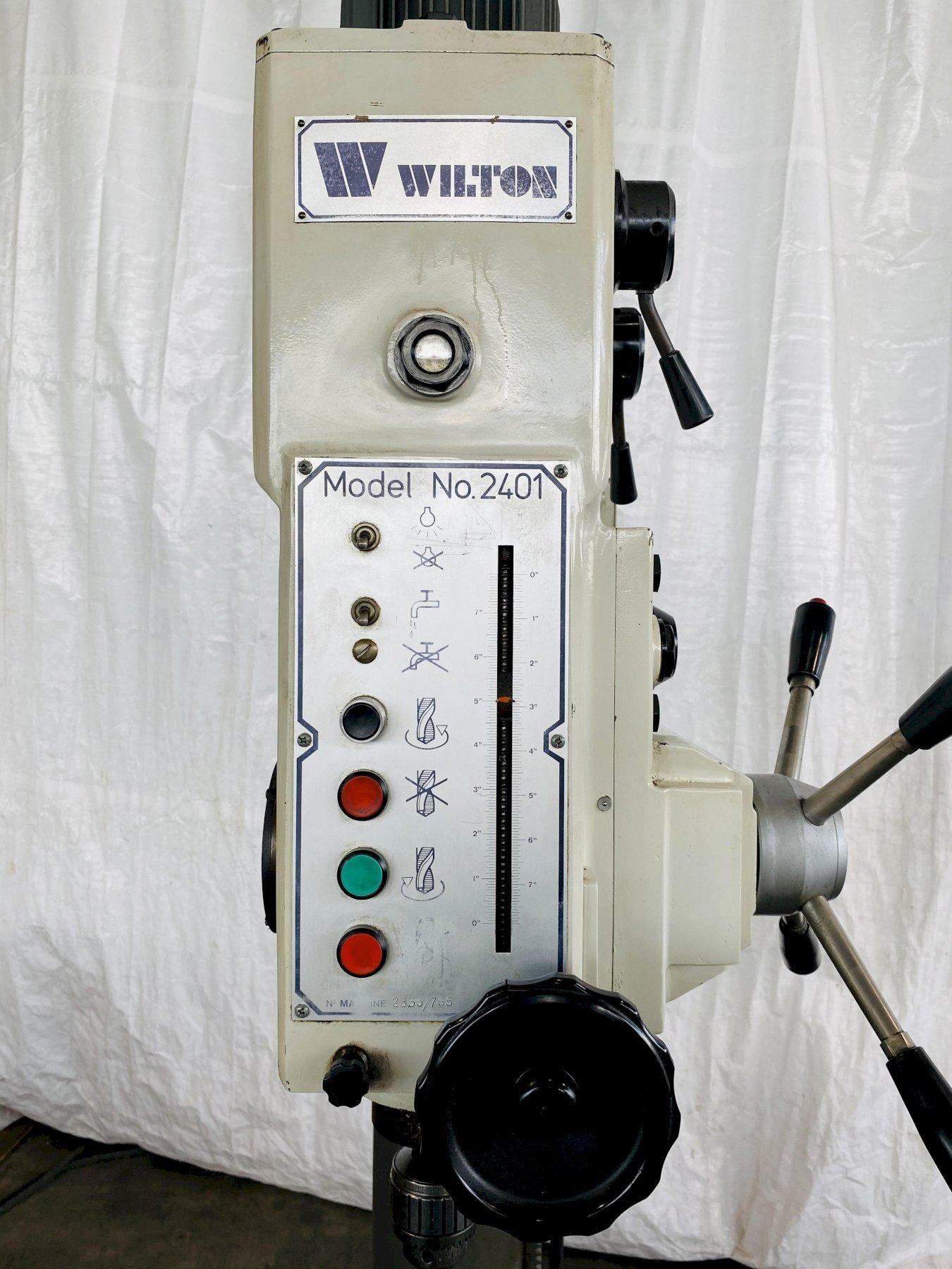 "34"" WILTON 2401 AUTOMATIC FEED DRILL PRESS. STOCK # 0949720"
