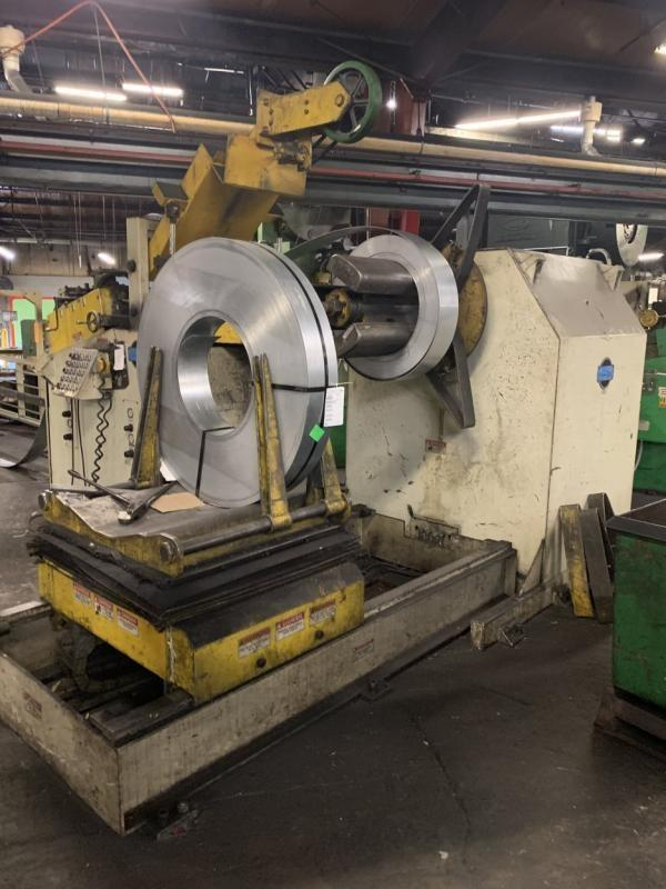 "COE Press 15,000 lbs x 24"" Wide Servo Coil Feed Line"