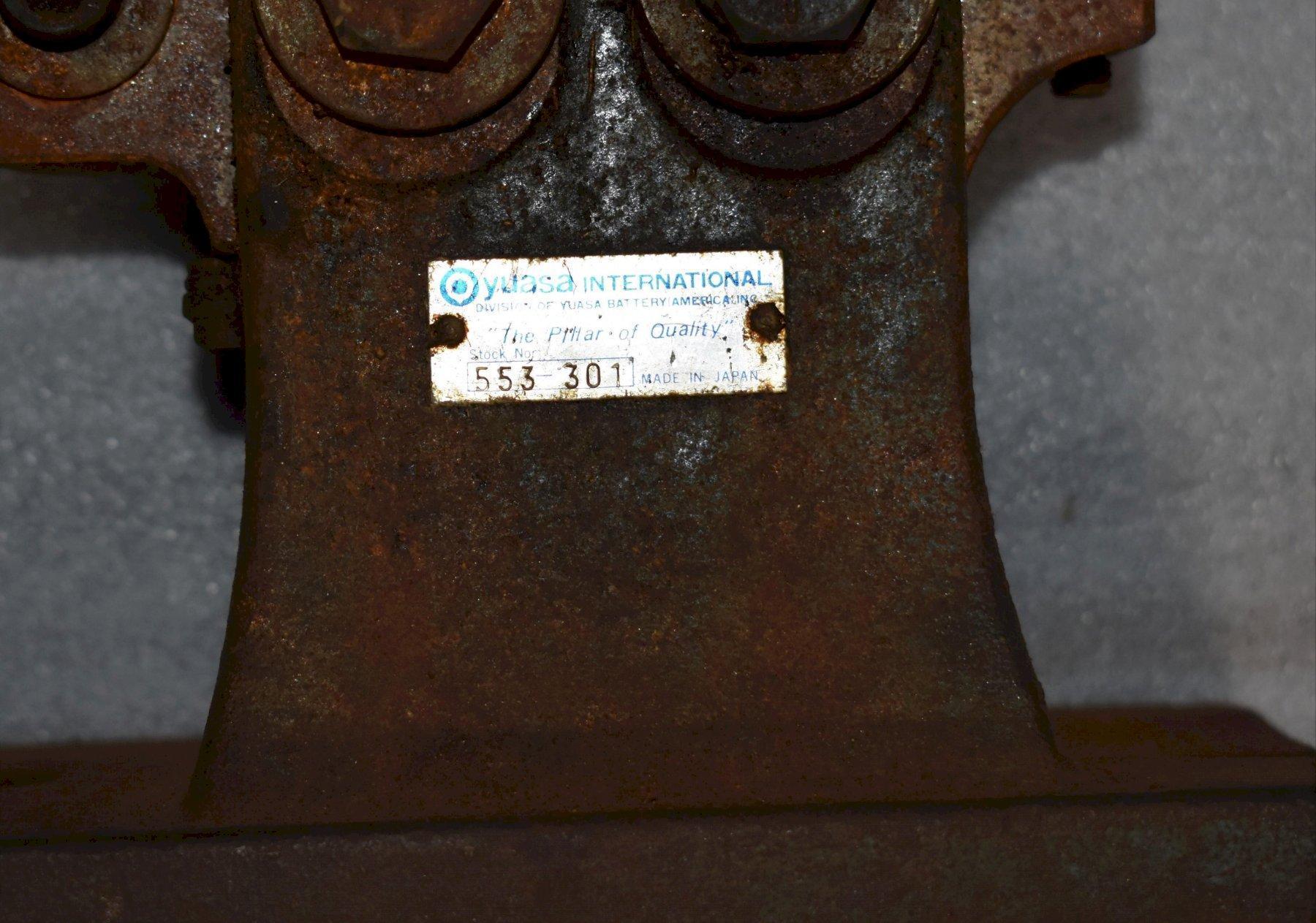 YUASA 553-301 TAILSTOCK