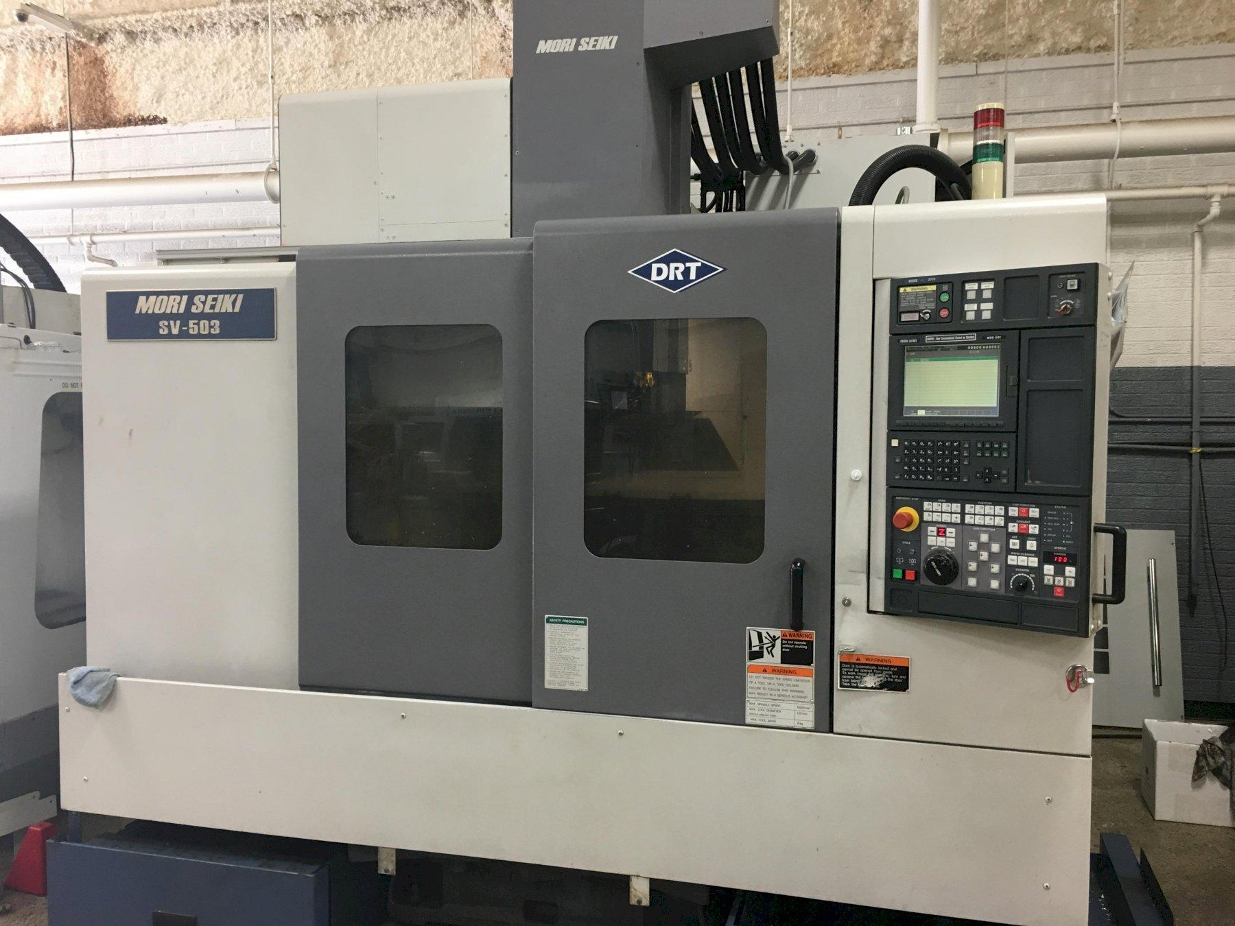 Mori Seiki SV-503B/40 Vertical Machining Center, S/N 2774, New 2001.