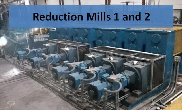 """2.5"""" x .134"""" Stainless Precision Reduction Tube Mill Line with Spool Recoiling"""