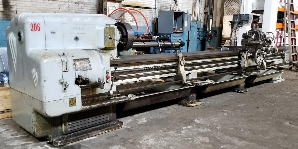 "20"" x 192"" AMERICAN PACEMAKER Engine Lathe"