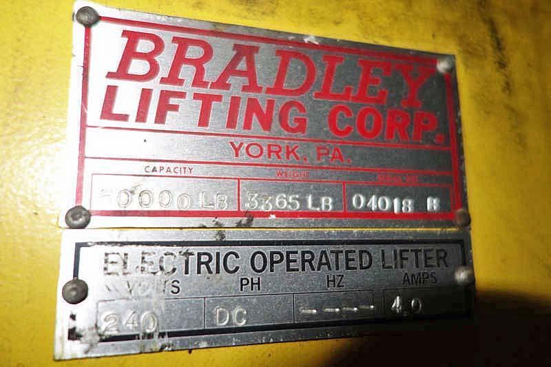 "50,000# x 60"" Bradley Coil Grab"