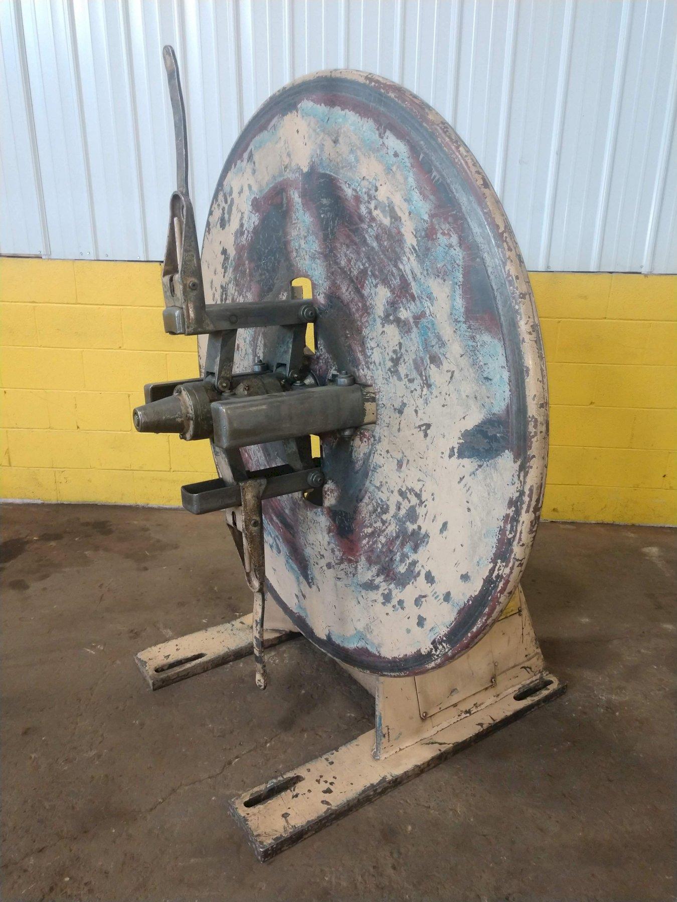 LITTELL Pull Off Coil Reel Uncoiler 4,000 lb x 12