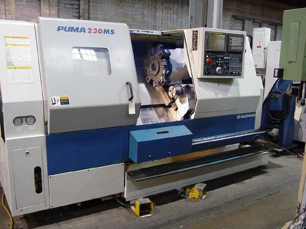 Daewoo Puma 230MSB CNC Turning Center
