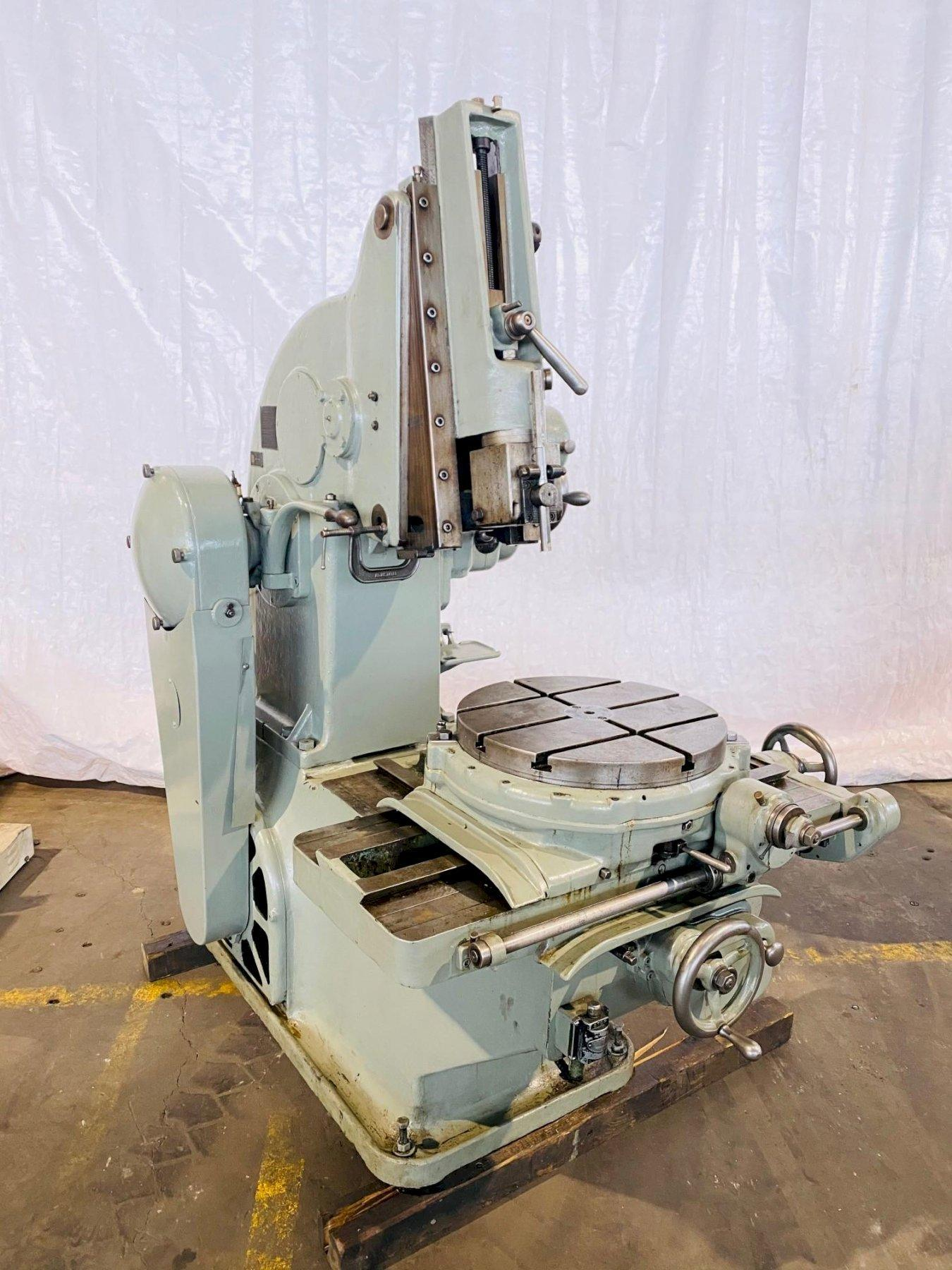 "6"" PRATT & WHITNEY MODEL ""B"" VERTICAL SHAPER. STOCK # 1057420"