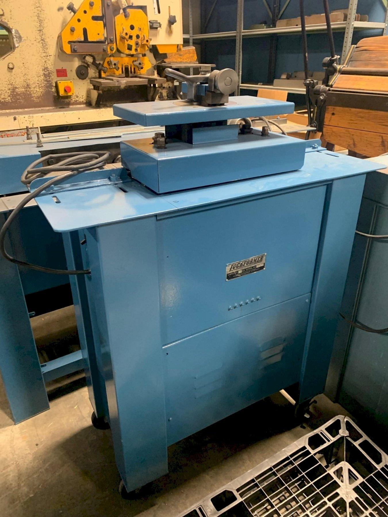 20 Ga Lockformer Pittsburgh Machine w/ Power Flanger