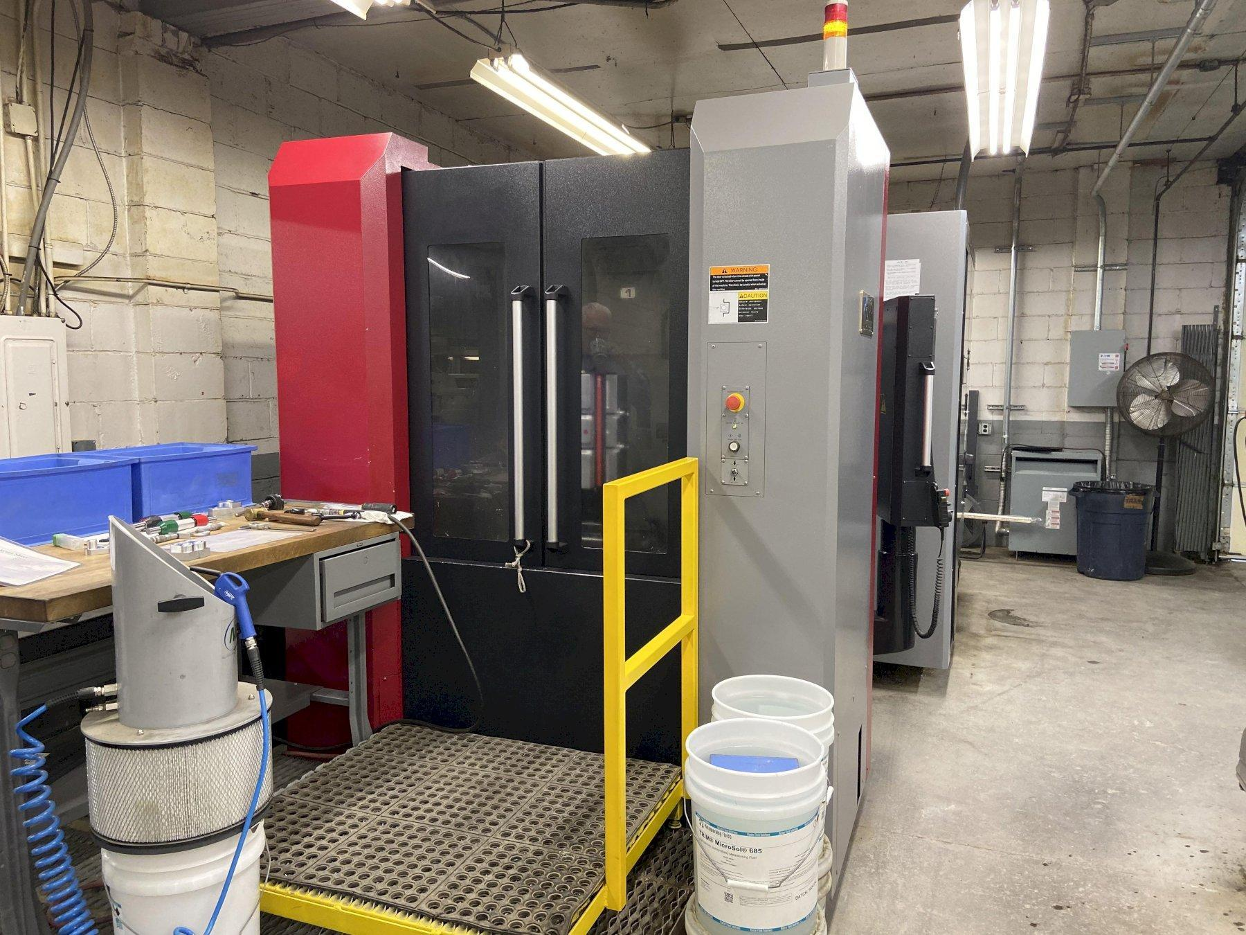 OKK HMC400 CNC Horizontal Machining Center, Fanuc AI Control, 22