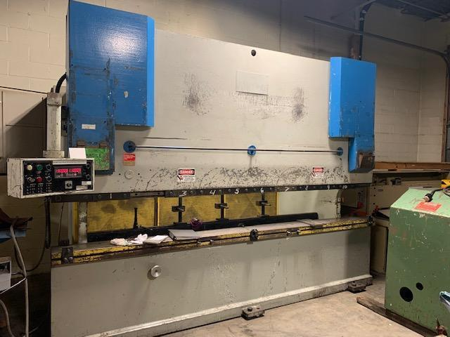 220 ton x 12 ft Primeline Hydraulic Press Brake Model 220-12