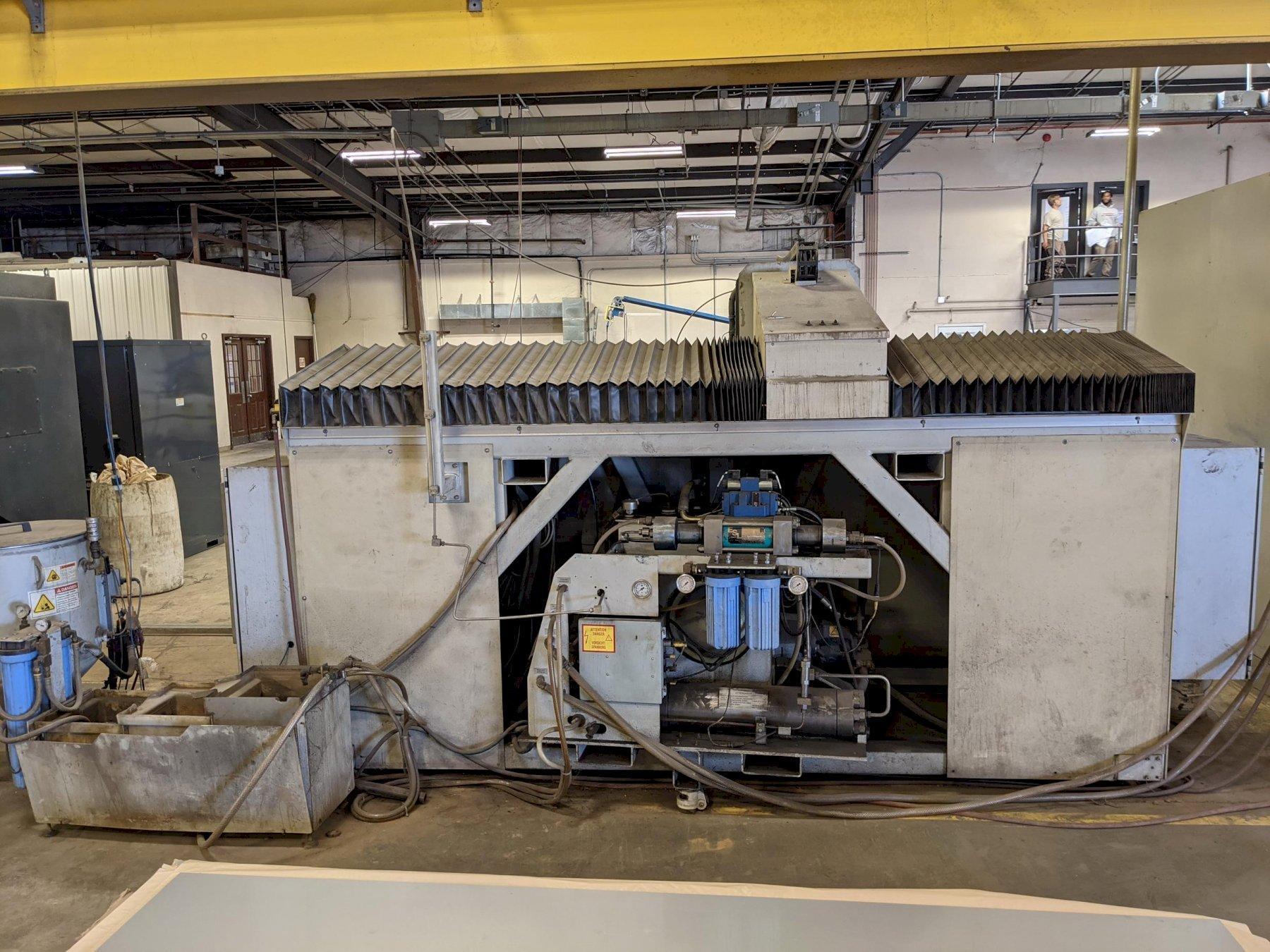 2006 Flow IFB 4800, 4x8, 60,000 PSI Waterjet Cutting Machine