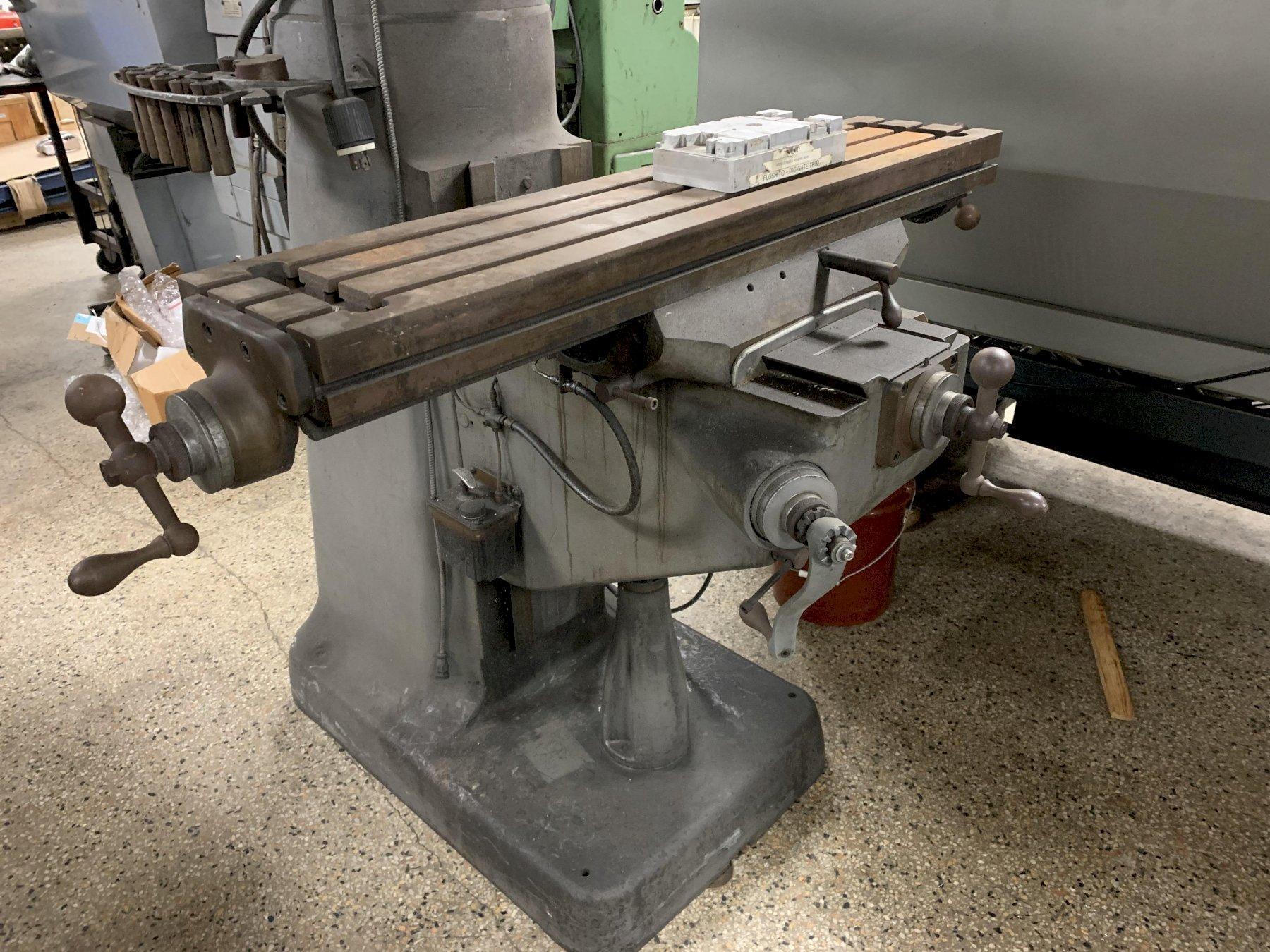 Bridgeport Mill - parts machine