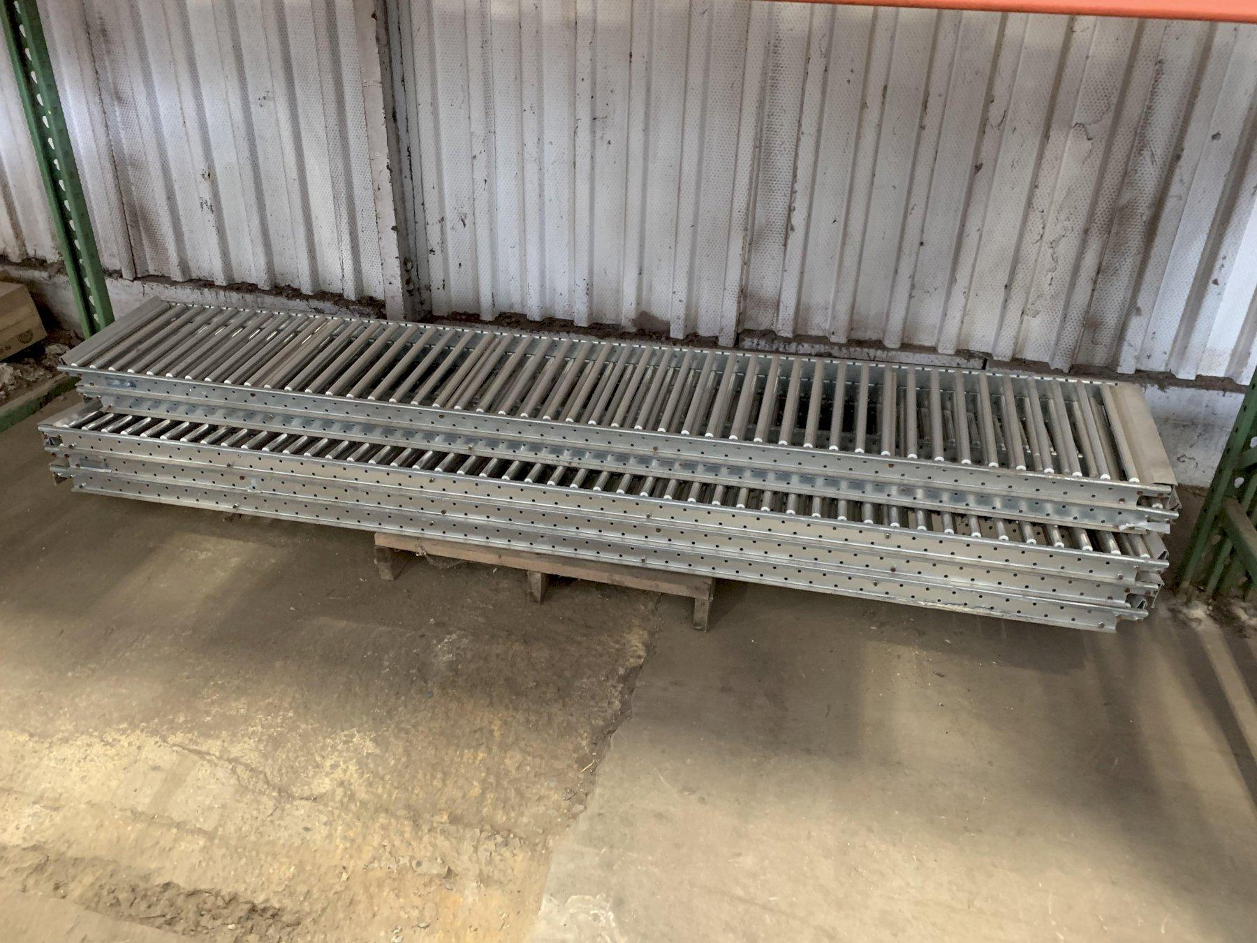 (8) 8' x SPAN TRACK ROLLER CONVEYORS: STOCK 12556